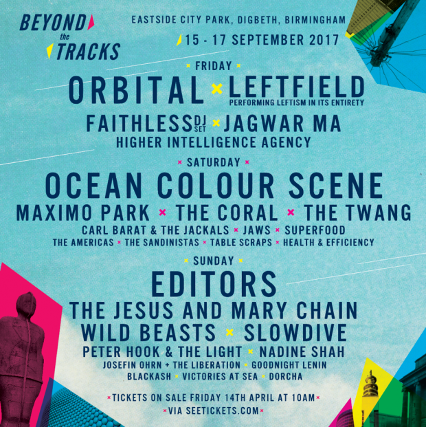 Beyond The Tracks Comes To Birmingham This Autumn