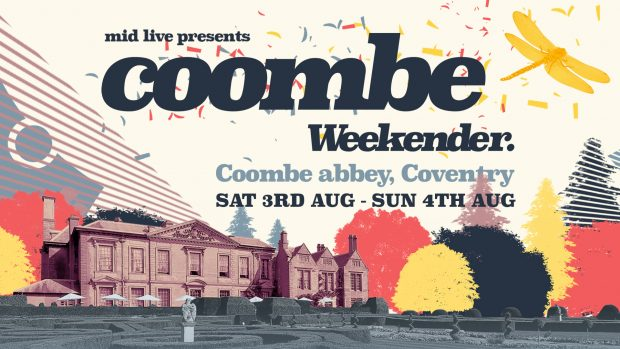 COOMBE WEEKENDER: Further Acts Announced