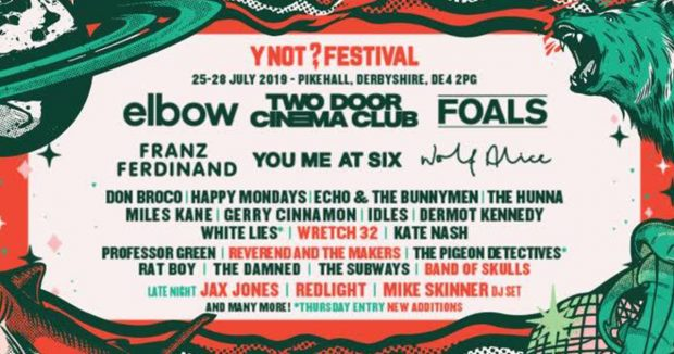 Y Not Festival Gives Away More Additions