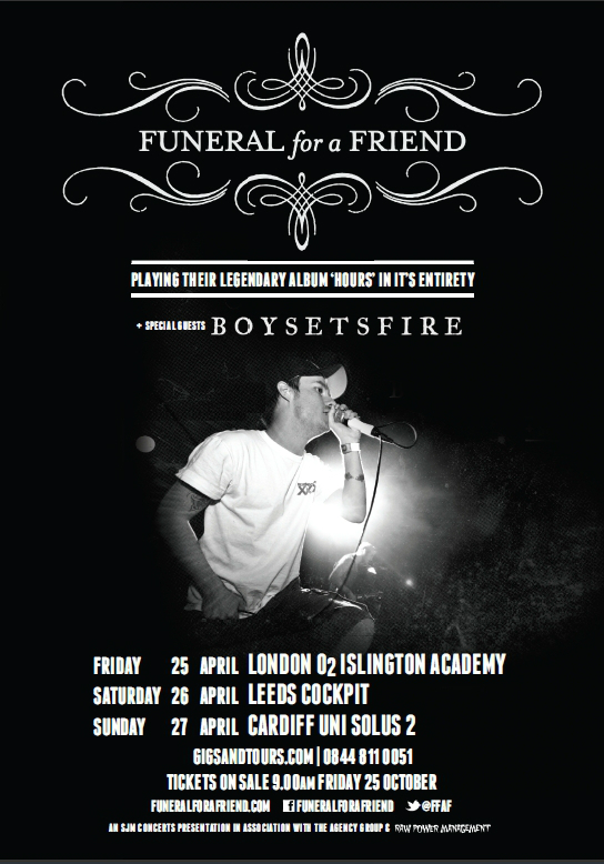 Funeral For A Friend Announce UK Dates