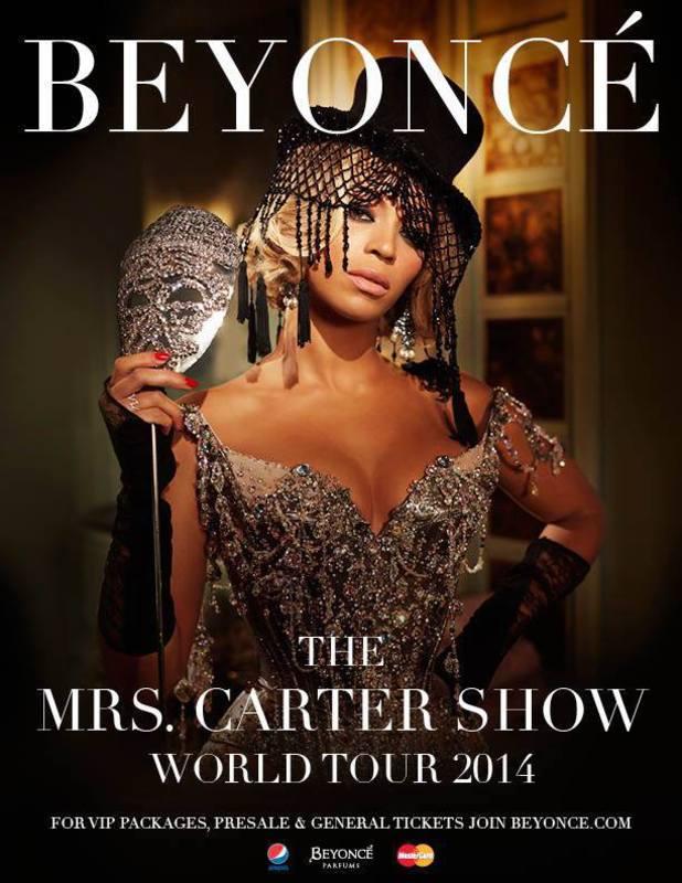 Beyoncé announces UK dates for 2014