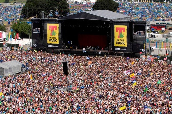 T In The Park Announce Line-Up