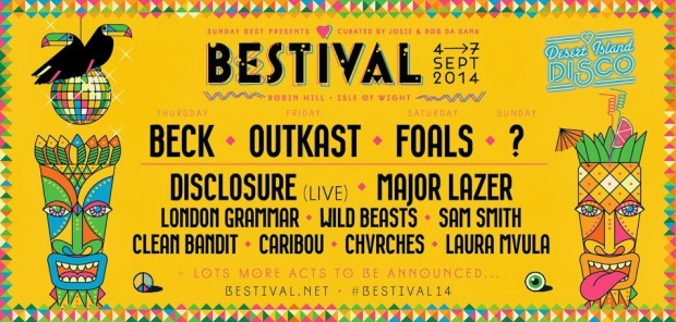 Beck and Foals To Headline Bestival