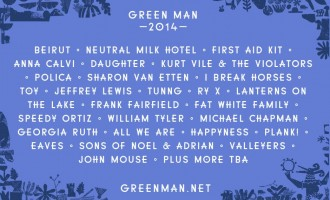 First Acts Announced for Green Man Festival