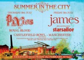 Pixies and James Announced as Summer in the City Headliners