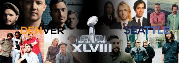 The Music of Superbowl XLVIII: Denver or Seattle?