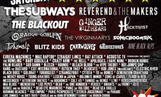 Camden Rocks 2014 Line Up Is Announced
