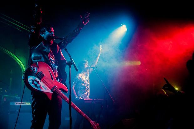 Klaxons Reveal 3D Printed Tour Plans