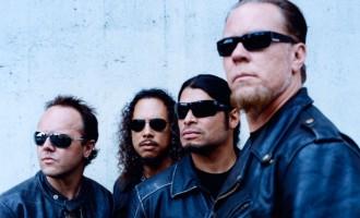 Metallica Set For Glastonbury Headline