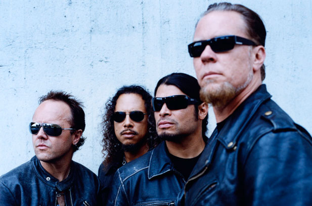 Metallica Set For Glastonbury Headline