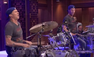 The Will Ferrell-Chad Smith Drum-off Actually Happened