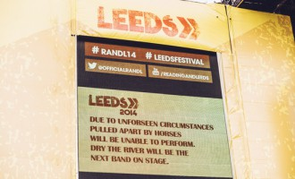LEEDS FESTIVAL: Pulled Apart By Horses Withdraw