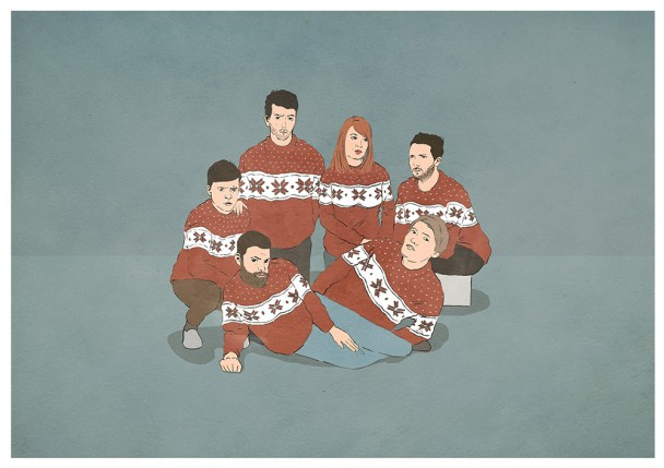 Los Campesinos! Go Christmassy
