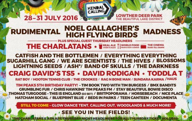 FESTIVALS: Kendal Calling Unveil Huge 2016 Lineup