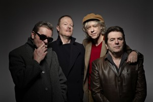 Bob Geldorf with his band 'The Boom Town Rats' reform for a comeback tour in 2013.