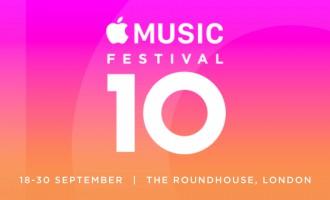 Apple Music Festival Returns Next Month