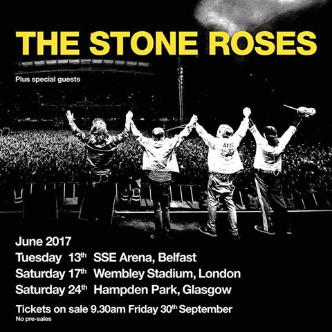 Stone Roses Announce More Huge Shows