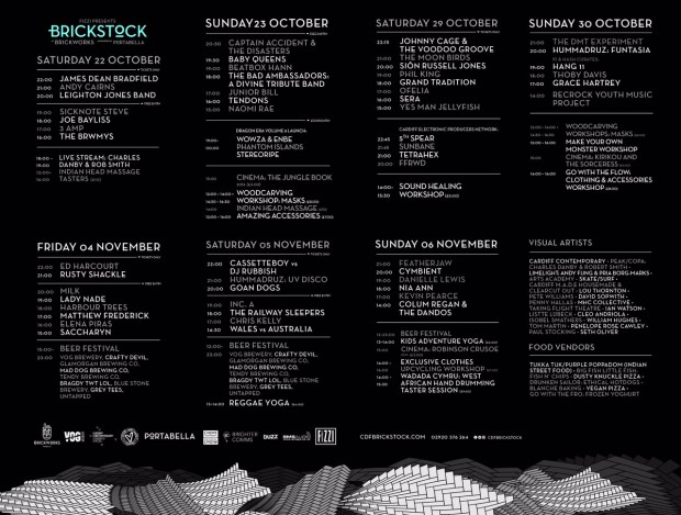 Cardiff Brickstock Festival Kicks Off This Weekend
