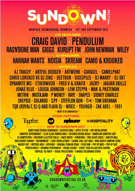 Sundown Festival Announce Initial Lineup