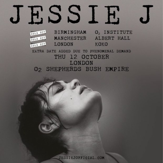 Jessie J's UK Tour Sells Out In Minutes